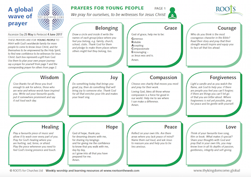 Prayer Journey for Young People