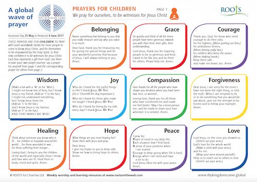 Prayer Journey for Children